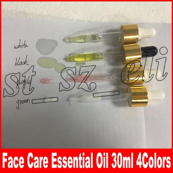 4 tipos 24k Elixir de oro rosa Piel Aceite de maquillaje Aceite esencial para la cara Antes de la base Aceite humectante para el rostro 30ml