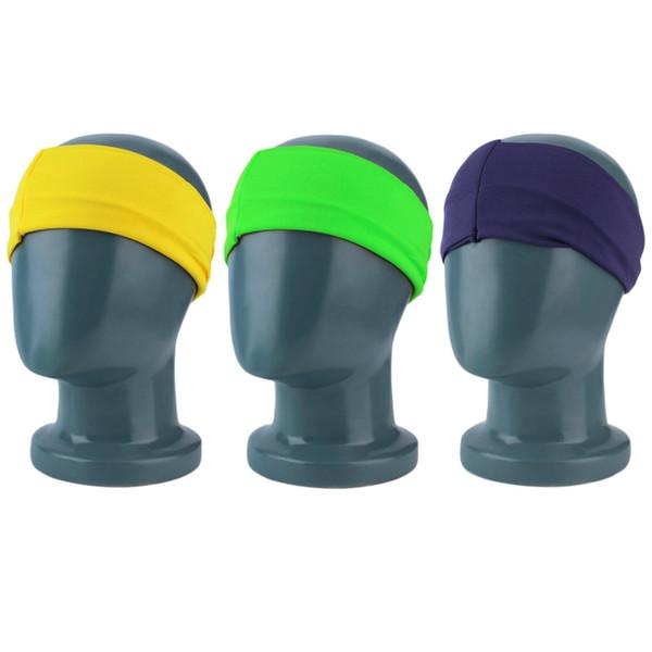 Women Ladies Breathable Yoga Elastic Turban Twisted Knotted Hair Band Headband Wrap Hair Decoration Stretch Twist Head Band