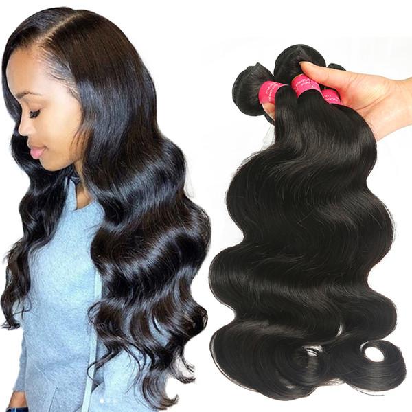 Brazilian Body Wave Hair Cheap Brazilian Virgin Human Hair Extension Wholesale 3 or 4 Bundles Brazilian Body Wave Hair Weaving