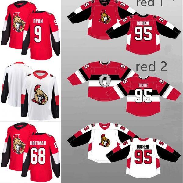 outlet store d6d13 4199c 2019 #95 Matt Duchene Jersey Ottawa Senators 15 Zack Smith 9 Bobby Ryan 10  Tom Pyatt 61 Mark Stone 68 Mike Hoffman Custom Hockey Jerseys S XXXL From  ...