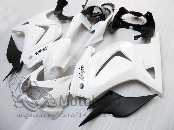 Satın Al 3years Beyaz Enjeksiyon Kalıpları Için Kawasaki Ninja Ex250r 2008 2009 2010 2011 2012 Ex 250r 08 09 10 11 12 Ex250 08 11 Abs Kaplama Kitleri