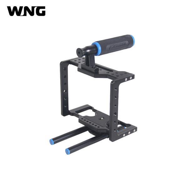 Handgriff-DSLR-Anlagen-Kamera-Käfig für leichte tragbare Video-Käfig-Anlage BMCC für BlackMagic-Kino-Kamera