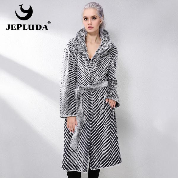 Real Piel Abrigo Zwq67yt Compre Nuevo Lana Doble Mezclas De Jepluda qBHnU0Rt