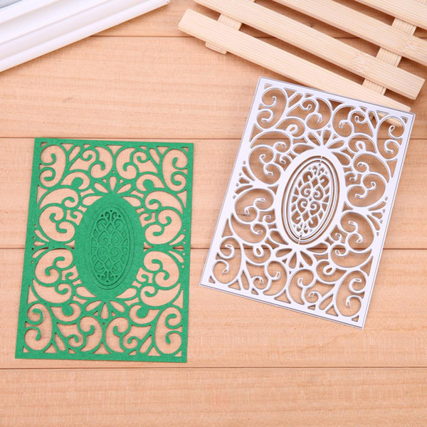 New Rectangle Lace Frame Carbon Steel Metal Cutting Dies Stencil Scrapbooking Embossing DIY Paper Cards Decorative Making Crafts