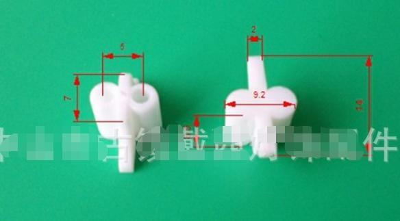 1000pcs T5 G5 LED Light Tube Pin Covers And Shades