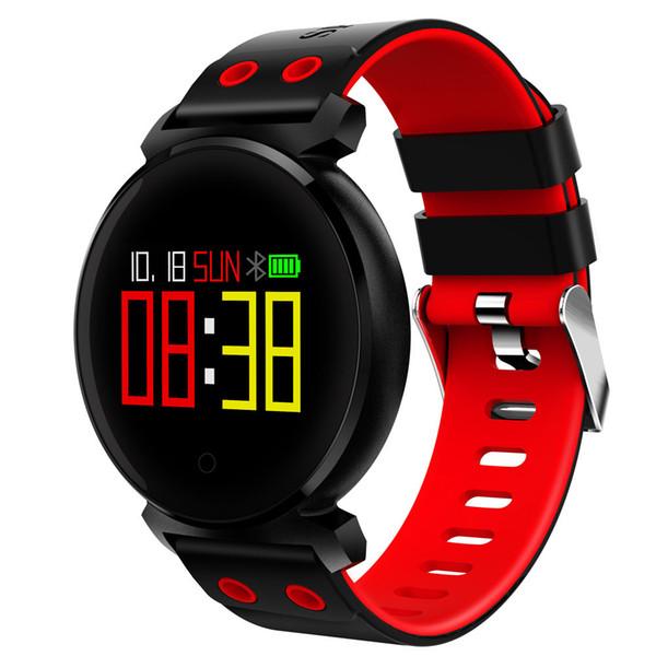 Smartwatch лучшие продажи K2 фитнес браслет цветной экран пульс артериальное давление