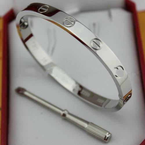 Famous brand Favourite Classic style 316L stainless steel brand love punk bangle with screwdriver for man and women jewelry