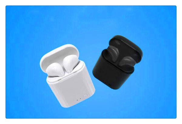 HBQ I7 TWS Mini Bluetooth Ear buds Wireless Invisible Headphones Headset With Mic Stereo bluetooth 4.1 Earphone for iPhone x Android