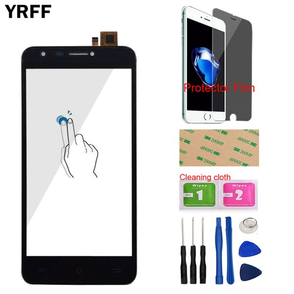 Mobile Touch Panel For Cubot Hafury Mix Touch Screen TouchScreen Digitizer Panel Front Glass Lens Sensor Tools Protecotr Film