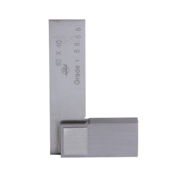 best selling Freeshipping Angle Ruler Gauge 63*40mm 90 degree Grade 1 Angle 90 Degree Square Tools Stainless Steel Measure Tools