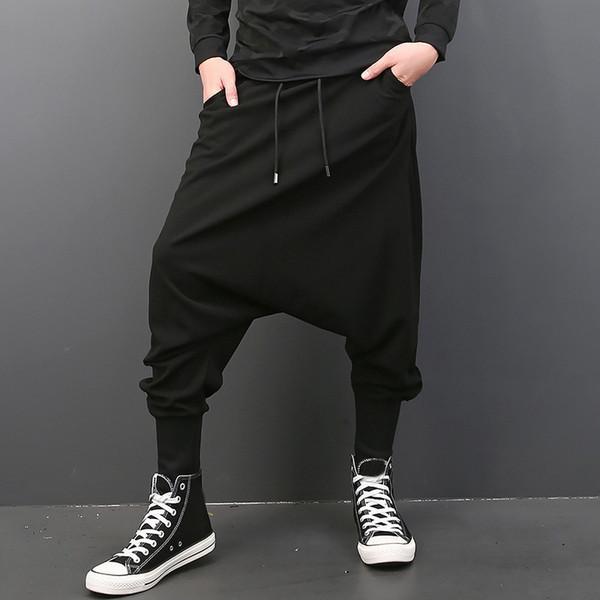 Black Men Pants