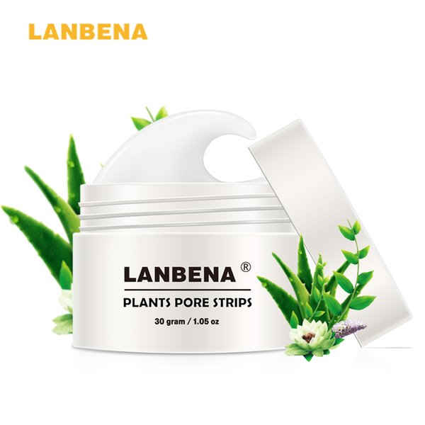 LANBENA 2018 New Style Blackhead Remover Nose Mask Pore Strip Black Mask Peeling Acne Treatment Black Deep Cleansing Skin Care