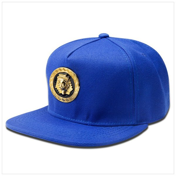 2018 Moda Snapback Blu Nero Rosso Baseball Medusa Cappelli Cappelli di marca Faraone egiziano Logo Sport Hip Hop Rap DJ Uomo Donna Regali