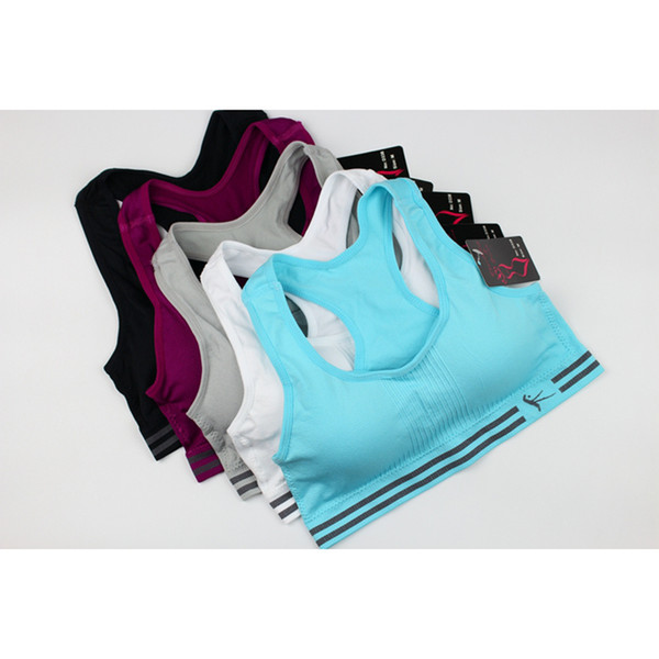 New Seamless Woman Yoga Sports Bra Sport Top Brassiere For Gym BhTops Brassiere Female Fitness Bras Wear Women's Clothing