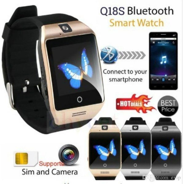 Smart Watch With Camera Bluetooth Wrist Watch SIM Card Smartwatch For IOS&Android 291