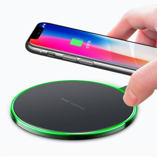 Qi Wireless Charger For iPhone 8 X Fast Wireless Charging for Samsung S8 S8+ S7 Edge USB Charger Pad With Retail Package