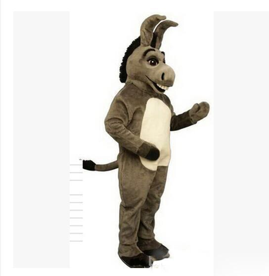 Nuovi costumi della mascotte per gli adulti Christmas Halloween Outfit Fancy Dress Suit Spedizione gratuita Horse Donkey Unicorn