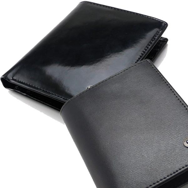 Großhandel Herren Neue Luxusmode Mb Echtleder Geldbörsen Visitenkartenetui Schwarz Kurze Quadratische Kartenhalter Kreditkartenfach Von Mb Wallet