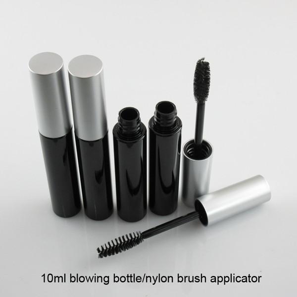 254414357b3 225pcs/lot DHL Free Shipping 10ml plastic mascara black mascara tube(empty  package)