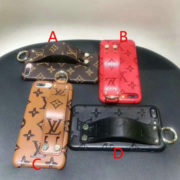 Para iphone xs max case nueva letra impresa pulsera del teléfono case para iphone 7 7plus 8 8plus 6 6plus X XR tapa trasera dura