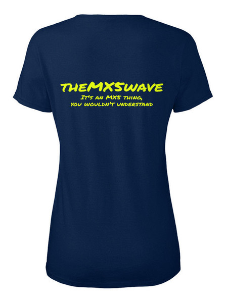 Themx5wave Onun Mx5 Şey 2 - Mxswave Bu bir Mxs Stylisches T-Shirt Damen