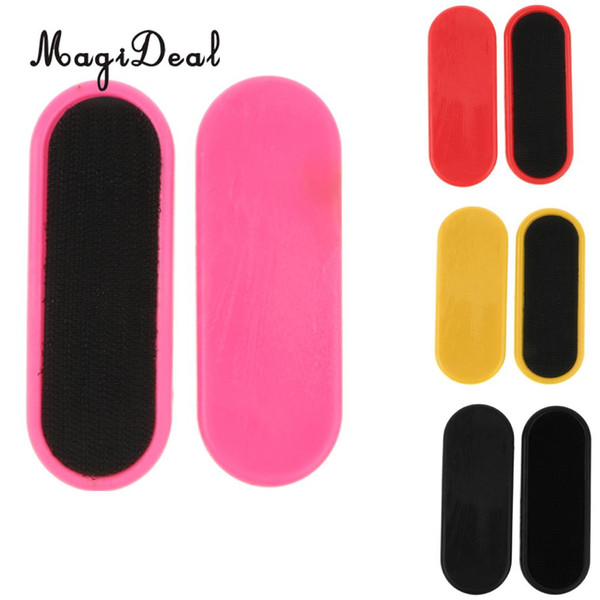 2pcs Replacement Slider Blocks Palm Pucks for Skateboard Longboard Sliding Gloves Hands Palm Protection Gear Outdoors