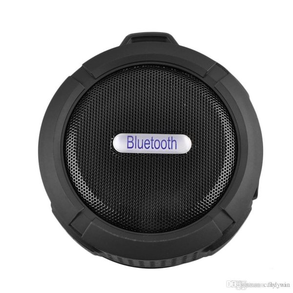 Wireless Waterproof Speaker C6 Subwoofer Waterproof bluetooth speakers wholesale for iphone 8 MP3 Bluetooth Receiver Hand Free
