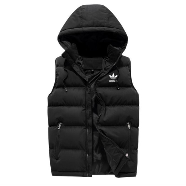 top popular Luxury Men outer wear winter waistcoat down vest feather designer jackets casual vests coat mens down coats 2019