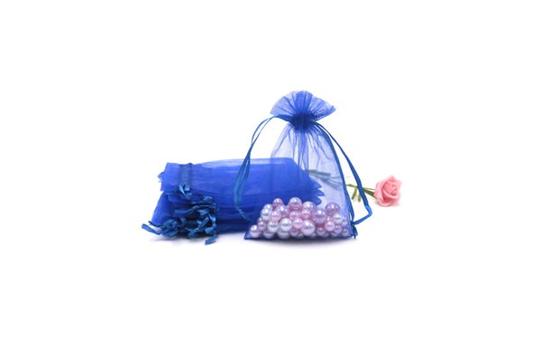 Wholesale 9x12cm 500Pcs Packaging Bags Organza Jewelry Gift Pouches Nice Christmas Wedding Gift Storage Bags Can Customize Logo