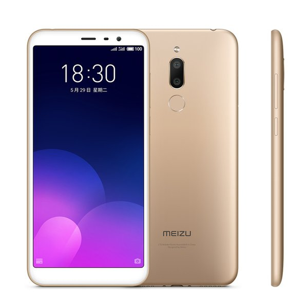 "Original MEIZU 6T MEILAN m6t 4G LTE 3GB RAM 32GB ROM Mobile Phone MT6750 Octa Core 5.7"" Full Screen 13.0MP Fingerprint ID Smart Cell Phone"