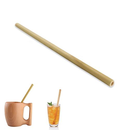 23cm Organic Bamboo Drinking Straw Tableware For Party Birthday Wedding Nartural Wood Straws