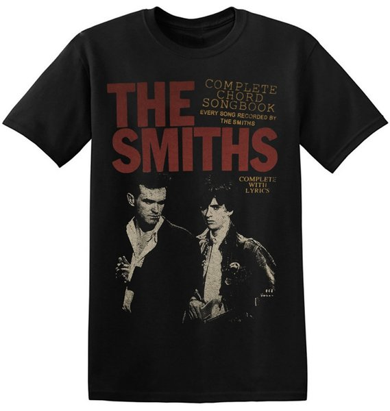 The Smiths T Shirt UK Vintage Rock Band Nuova stampa grafica Unisex Uomo Tee 1-A-022 Nuova moda uomo T-shirt a maniche corte Mens