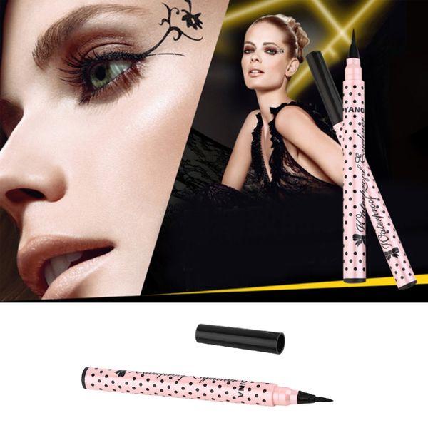 Eyeliner Long Lasting Waterproof Liquid Eye Liner Pen Make up Cosmetic Black Magic Maquillaje Wave Point