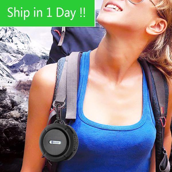 best selling fast ship Bluetooth Speaker IP65 Waterproof Level Portable Speaker Shockproof Dustproof Mini Speaker Bluetooth 3.0 Receiver