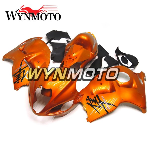Complete Fairings For Suzuki GSXR1300 Hayabusa 1997-2007 05-07 Injection ABS Plastic Bodwork Fairing Cover Orange Gold