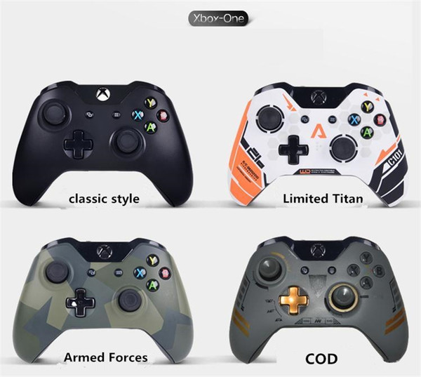 Wireless Controller For Xbox One Computer PC Game Controller Gamepad For Xbox One Console Gamepad PC Joystick with Package
