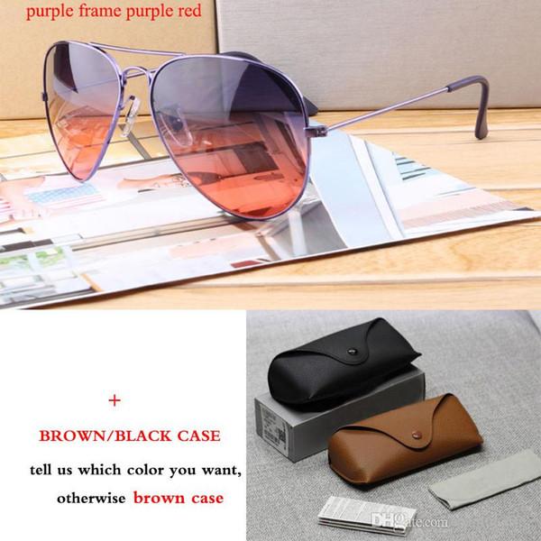 Marka yeni moda Marka Klasik Güneş Gözlüğü Pilot Erkek Kadın Renkli Yansıtıcı Lens Gözlük Aksesuarları Güneş Gözlükleri