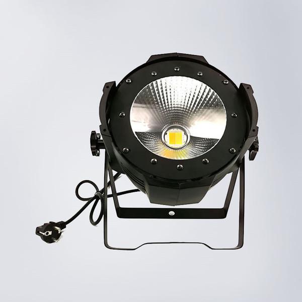 Luces de escenario de alta potencia 200W Blanco cálido / Blanco frío Aleación de aluminio Led COB Par Light DMX 2 canales 45 grados Ángulo de haz