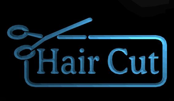 LS619-b-Saç-Cut-Berber-Makas-Salon-NR-Neon-Işık-Tabela Dekor Ücretsiz Kargo Dropshipping Toptan 8 renkler seçmek için