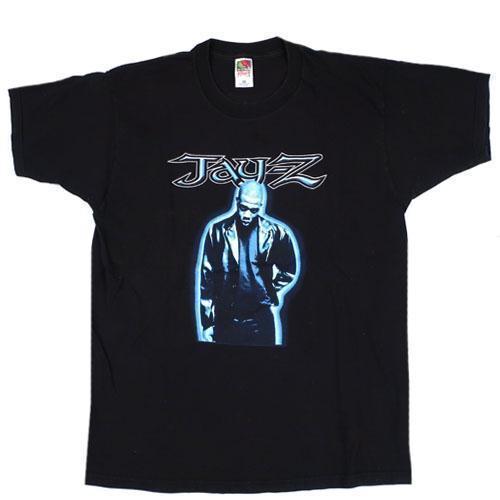 T-Shirt Vintage Jay-Z Hard Knock Life Tour 1999 Roc-A-Fella Records Rap Hip Hop 2018 été nouveau hommes en coton Short
