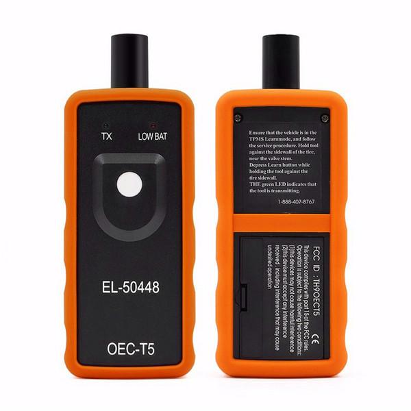 top popular EL50448 Auto Tire Presure Monitor Sensor OEC-T5 EL 50448 For GM Opel TPMS Reset Tool EL-50448 Electronic 2019