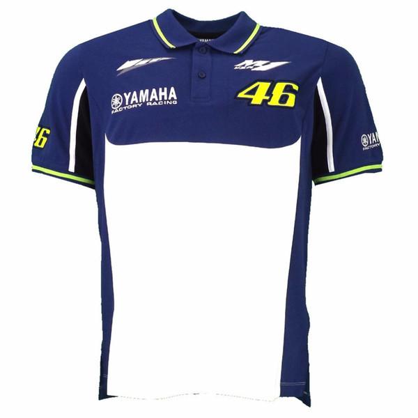 best selling 2018 MOTO GP for Yamaha M1 Factory Team Moto GP Polo Shirt Motorcycle T-Shirt