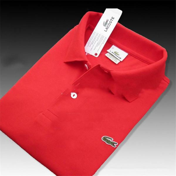 Тренд рубашка для мужчин женщин High Street Top Tee мода и профессиональный дизайнер 2018 Лето рубашка поло вышивка мужская поло футболки