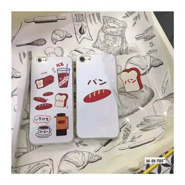 Unique Cute lipsticks cosmetics Clear Soft Silicon Phone Case Back Cover for iPhone and samsung Galaxy s8plus Customizable