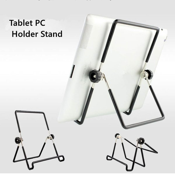 """Universal Metal Adjustable 180 Degree Foldable Tablet PC Stand Holder For iPad 7 inch 8"""" 9"""" 10.1"""" Tablet PC"""