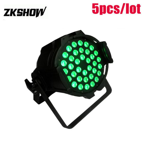 80% Discount 36*3W RGB LED Par Light Indoor 60W 120W Wash DMX DJ Disco Party Wedding Stage Lighting Effect Projector 230V Free Shipping