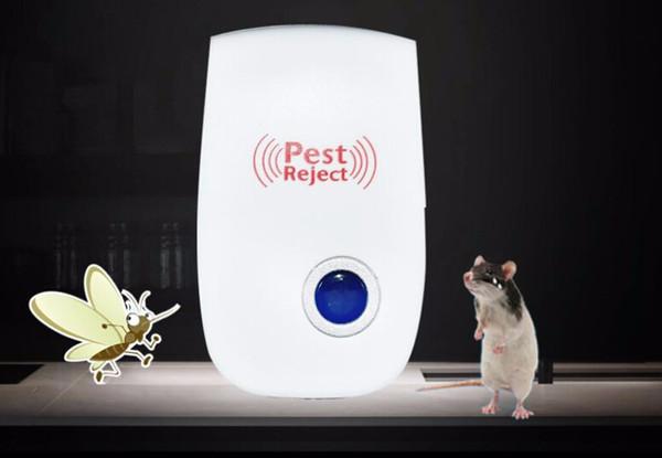 Mosquito Assassino Pragas Rejeitar Repelente de Pragas Ultrasonic Eletrônico Rejeitar Rato Rato Repelente Anti Roedor Bug Rejeitar 50 pcs