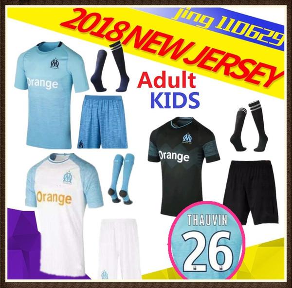 camisetas de futbol Olympique de Marseille niños