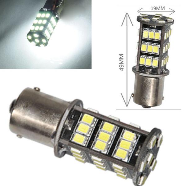 10pcs Vehicle 3000K White 1156 BA15S RV Trailer Interior LED Lights Bulbs 42 SMD 2835 for Any Car Led Decoration