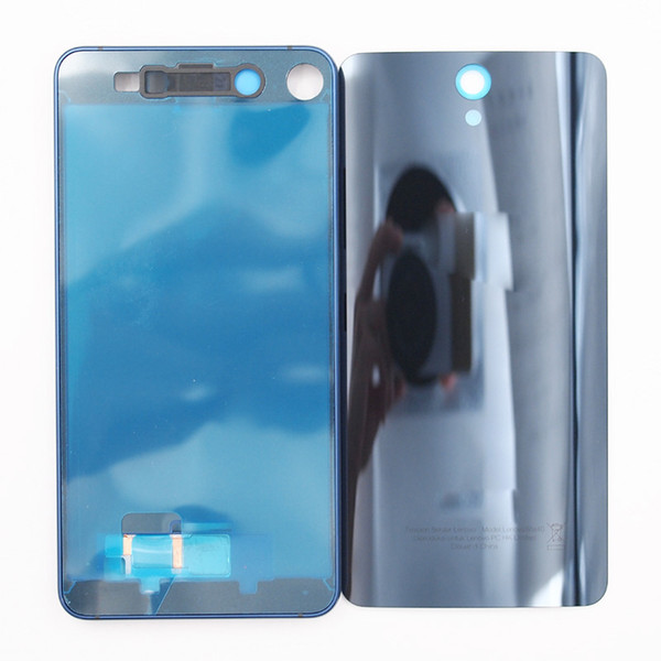 wholesale New LCD Screen Front Frame Glass Back Door Battery Housing Case For Lenovo VIBE S1a40 Without Power Volume Buttons